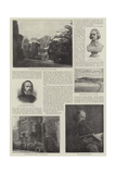 Alfred, Baron Tennyson, Poet Laureate Giclee Print by George Frederick Watts