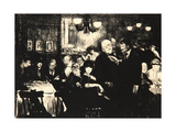 Artists' Evening, 1916 Giclee Print by George Wesley Bellows