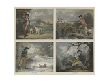 Shooting Pieces Giclee Print by George Morland