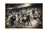 Business-Men's Class, 1916 Giclee Print by George Wesley Bellows