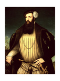 13th Lord Grey De Wilton (C.1508-62) 1547 (Panel) Giclee Print by Gerlach Flicke
