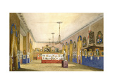 An Exhibition at the Old Town Hall Giclee Print by George Pyne
