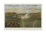 Niagara Falls from the American Side Giclee Print by George Henry Andrews