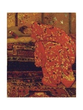 Girl in a Red Kimono Giclee Print by Georg-Hendrik Breitner