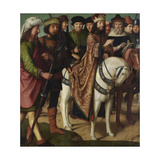 Roman Soldiers and Jewish Judges Giclee Print by Gerard David