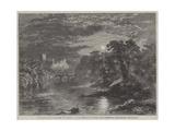 Richmond Castle, Yorkshire Giclee Print by George Haydock Dodgson