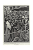 The King Receiving the Address of Welcome from South London Boroughs Giclee Print by Gordon Frederick Browne