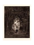 The Approach to the Enchanted Palace Giclee Print by Gustave Dore
