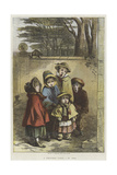 A Christmas Carol Giclee Print by Hablot Knight Browne