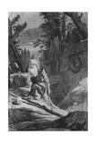 St Hilarion Giclee Print by Giovanni Battista Tiepolo