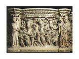Relief Panel from the Pulpit Giclee Print by Giovanni Pisano