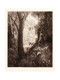 Satan in Paradise Giclee Print by Gustave Dore