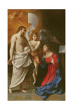 Christ Appearing to the Virgin, C.1608 Giclee Print by Guido Reni