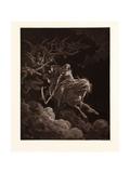 The Vision of Death Giclée-tryk af Gustave Dore