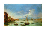 The Venetian Lagoon Giclee Print by Giovanni Antonio Guardi
