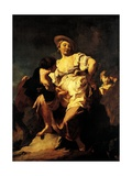 The Soothsayer, 1740 Giclee Print by Giovanni Battista Piazzetta