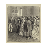Court at Buckingham Palace Giclee Print by Godefroy Durand