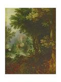 Landscape Giclee Print by Gillis van III Coninxloo