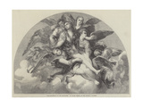 The Assumption of the Magdalen Giclee Print by Giulio Romano