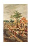 Flemish Kermesse Giclee Print by Gillis Mostaert