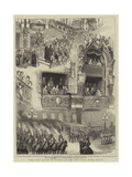 The Lord Mayor of London at the New Paris Opera House Giclee Print by Godefroy Durand