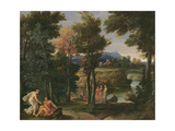 Landscape Giclee Print by Giovanni Francesco Grimaldi