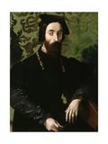 Portrait of a Musician, C.1540 Giclee Print by Girolamo Mazzola Bedoli