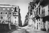 Barricade of General Turr, Via Toledo in Palermo, June 1860 Photographic Print by Gustave Le Gray