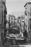 Destruction of the Castres Quarter, Palermo, 1860 Photographic Print by Gustave Le Gray