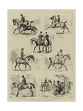 The Seven Ages of Horsemanship Giclee Print by Godfrey Douglas Giles