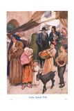 Little Jewish Folk Giclee Print by Gordon Frederick Browne