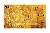 Gustav Klimt - Detail of 'The Stoclet Frieze', 1905-09 Digitálně vytištěná reprodukce