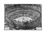 Rome, the Colosseum, C.1774-78 Giclee Print by Giovanni Battista Piranesi