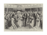 Grand Naval Ball Given by the Duke of Edinburgh in the Opera House Giclee Print by Godefroy Durand