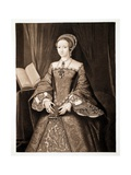 Princess Elizabeth, Later Queen Elizabeth I, C.1547, Pub. 1902 (Collotype) Giclee Print by Guillaume Scrots