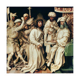 Pilate Washing His Hands, Left Panel from a Triptych, 1496 Giclee Print by Hans Holbein the Elder