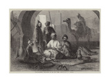 Snake-Charmers, Inhabitants of the Riff Coast, Morocco Giclee Print by Harry John Johnson