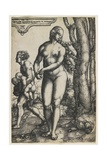 Rhea Sylvia (Romulus and Remus), C. 1530 Giclee Print by Heinrich Aldegrever