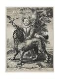 Frederik De Vries, 1597 Giclee Print by Hendrik Goltzius