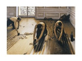 Floor Planers, 1875 Giclee Print by Gustave Caillebotte