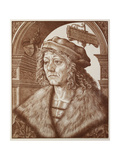 Portrait of Johannes Paumgartner, 1512 Giclee Print by Hans Burgkmair