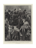 A Last Look at President Mckinley, the Lying-In-State at Washington Giclee Print by Gordon Frederick Browne