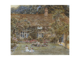 A Country House Giclee Print by Helen Allingham