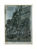 St George on Horseback, 1508 Giclee Print by Hans Burgkmair