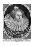 Elizabeth I, Queen of England Giclee Print by Hendrik I Hondius