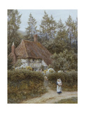 A Cottage Near Haslemere Giclee Print by Helen Allingham