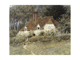 Old Surrey Cottage Giclee Print by Helen Allingham