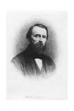 Portrait of Pierre Larousse Giclee Print by Henri Joseph Dubouchet