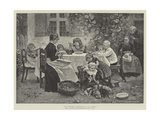 The Children's Breakfast Giclee Print by Harry Jochmus