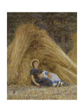 Past Work Giclee Print by Helen Allingham